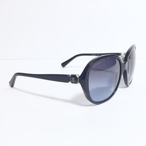 Chanel black CC logo model 5285 sunglasses